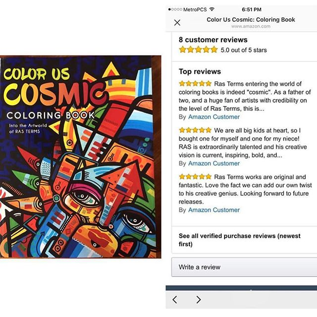 6ec34698ea19 Get a copy and write your review on Amazon!!!!! The Coloring Book is Out  Now! The Link is in my Profile! REMEMBER