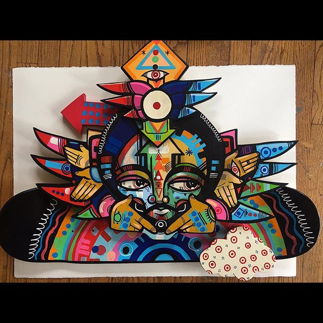Available piece!!!! Radioactivity. Hit up Jorge for info @movementgallery_