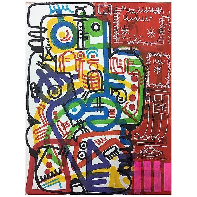 #jamesmonk #abstract #abstractexpressionism #arteabstracto #contemporary #artecontemporanea #artecontemporaneo